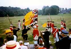 Colours March Past Reviewing Stand